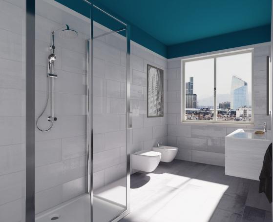 La ristrutturazione del bagno laura renieri theoldnow - Ristrutturazione del bagno ...
