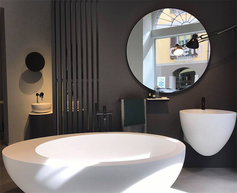 5 tendenze e idee per il bagno dal fuorisalone 2017 for Bagno arredo milano