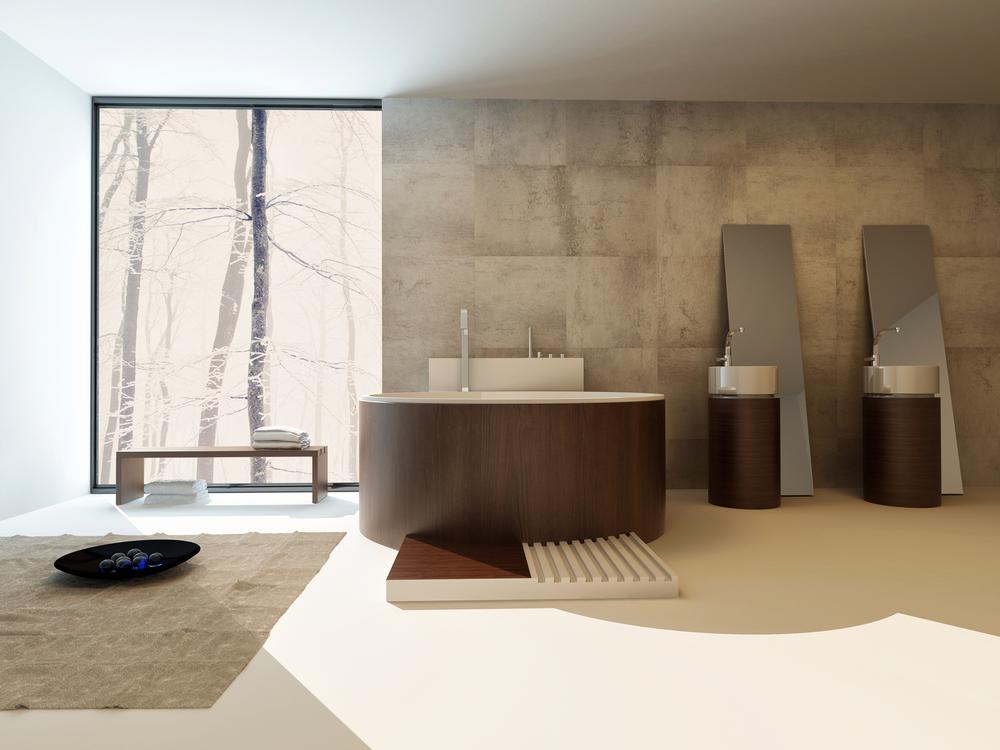 Piastrelle bagno stile giapponese bagno di lusso design da favola