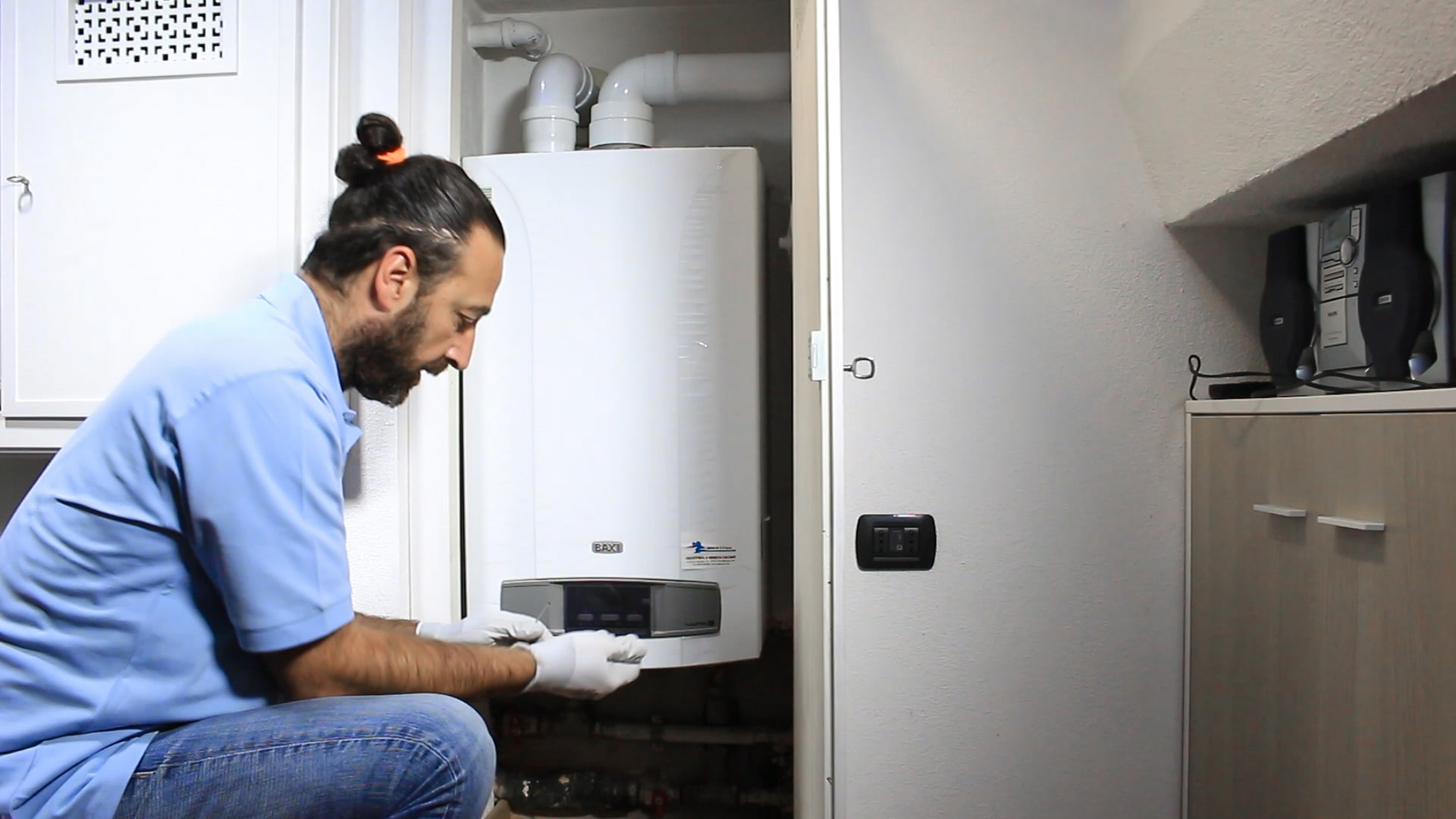 termotecnico tecnico Desivero ripara caldaia