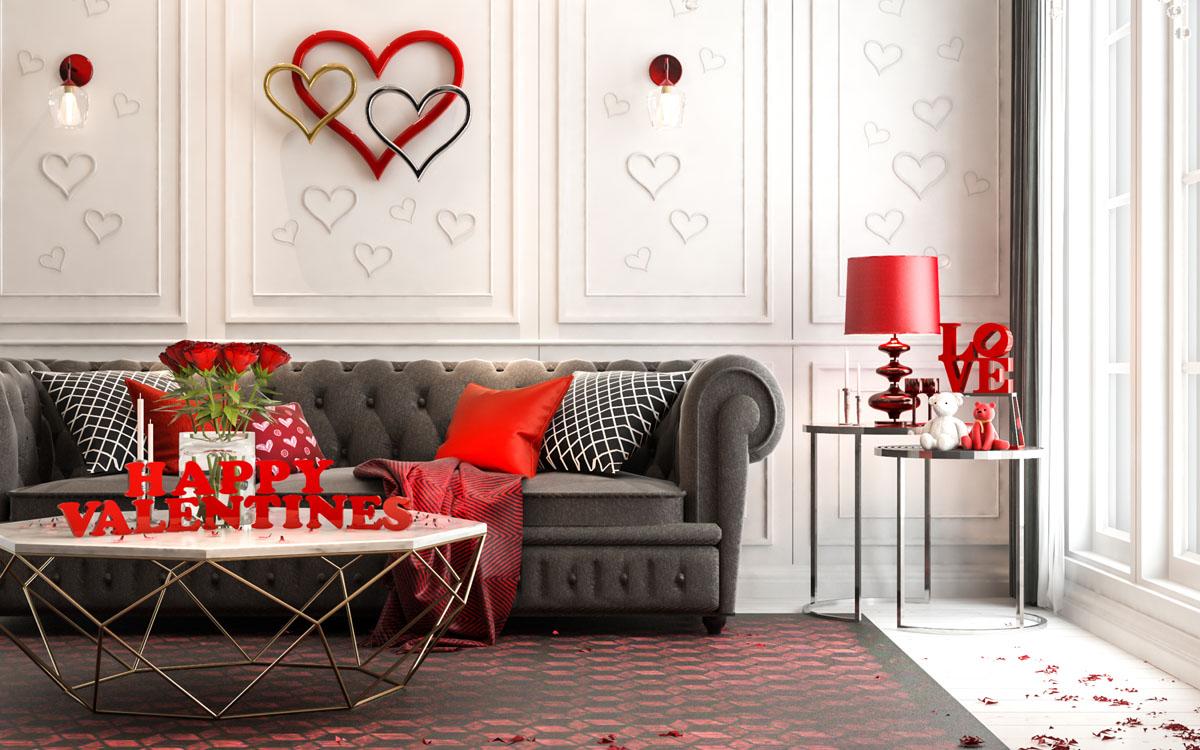 Come decorare la tua casa e il tuo bagno per san valentino for Decora la tua casa
