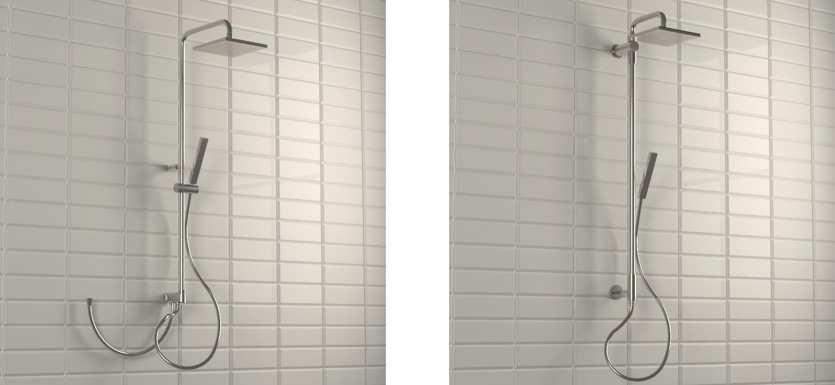 colonne doccia con soffione