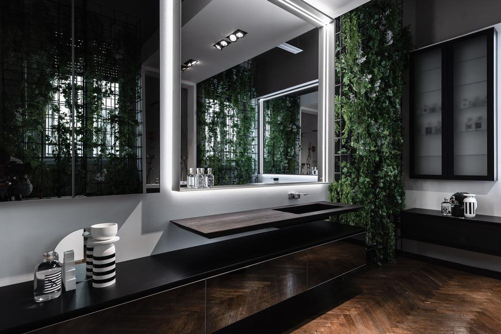 lavabo e specchio fuorisalone 2019