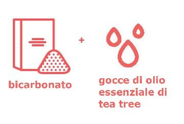 icona bicarbonato gocce di olio essenziale