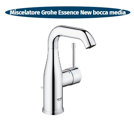 essence new miscelatore lavabo bocca media