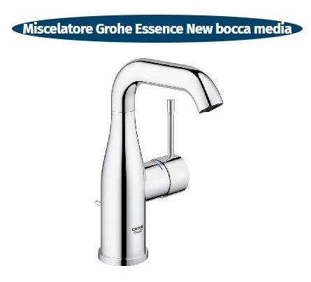 essence new miscelatore lavabo bocca media