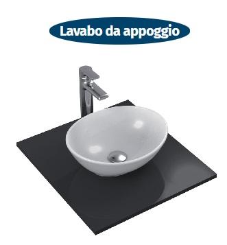 lavabo da appoggio ideal standard serie strada