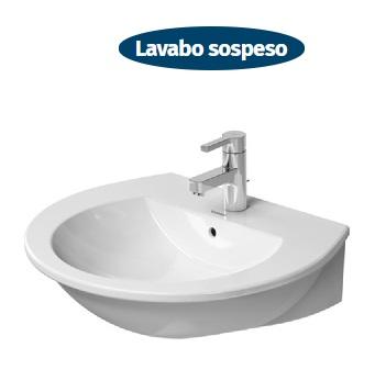 lavabo sospeso duravit darling new