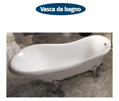 vasca da bagno freestanding evergreen