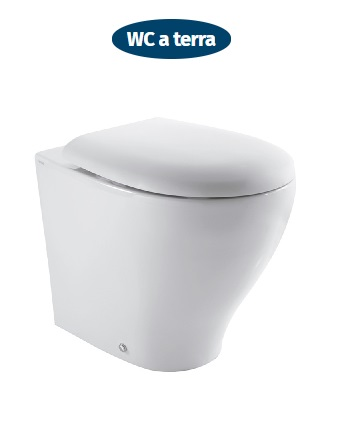 wc a terra ceramica globo bowl