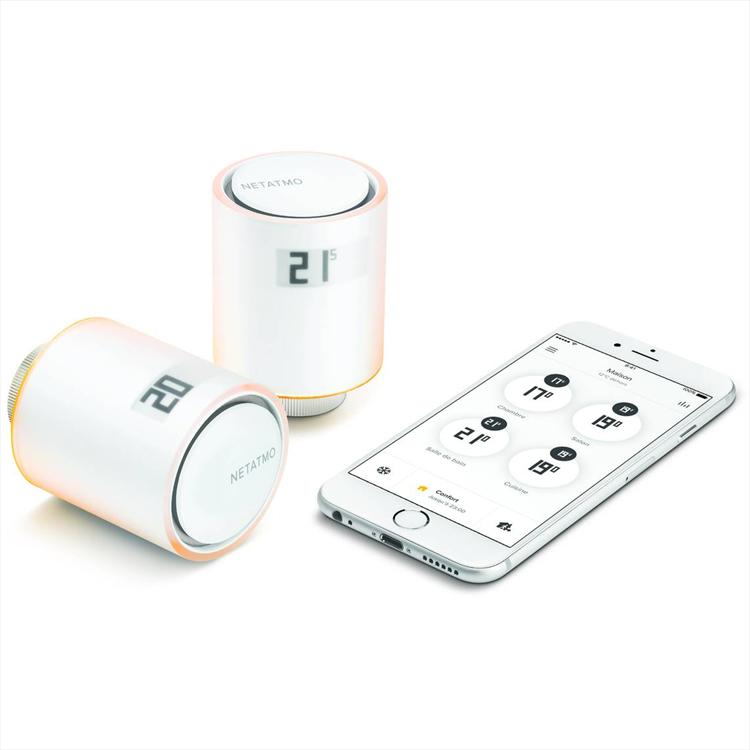 valvola intelligente wifi per termosifoni netatmo