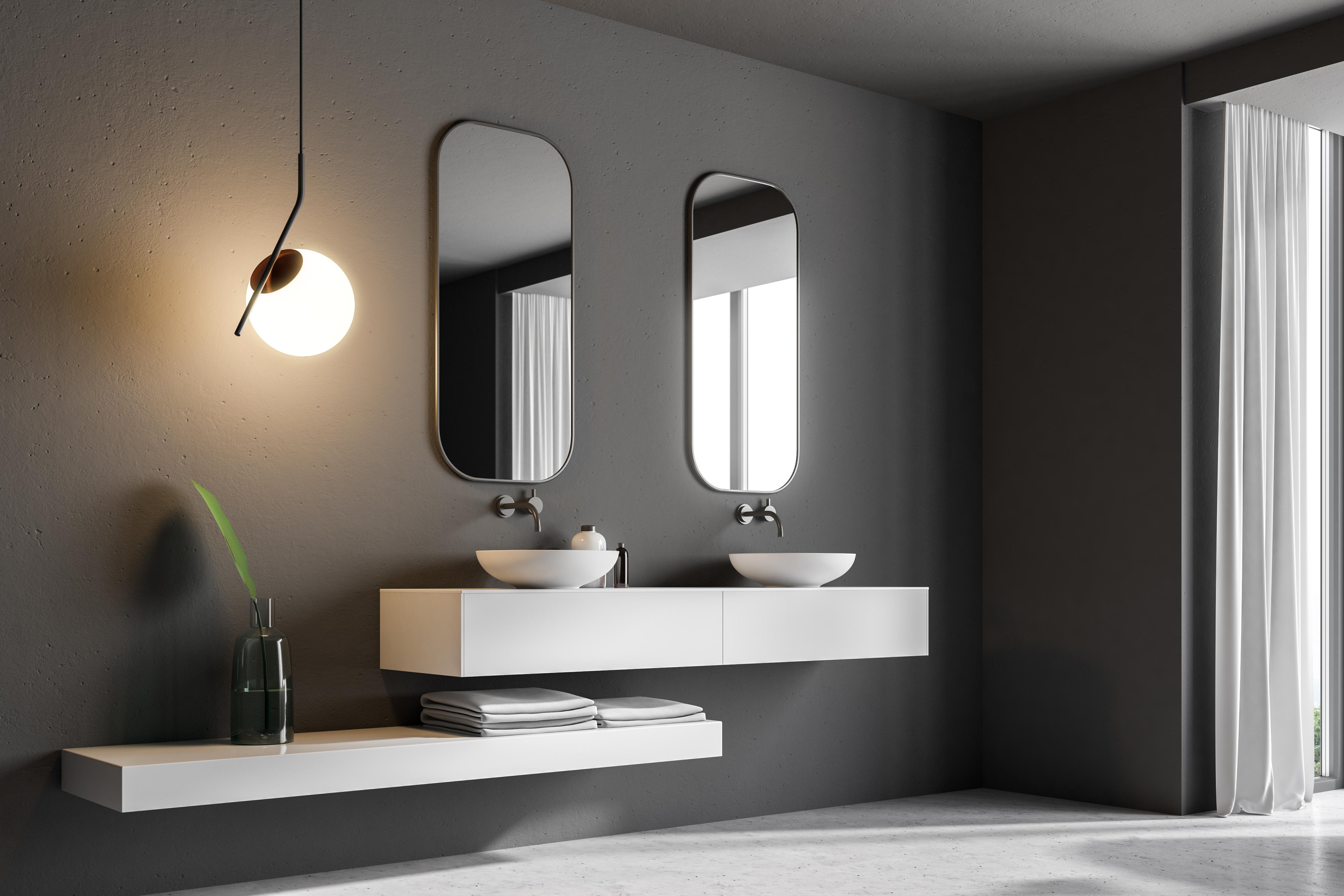 Idee Bagno Il Mobile Bagno Con Doppio Lavabo Modo D